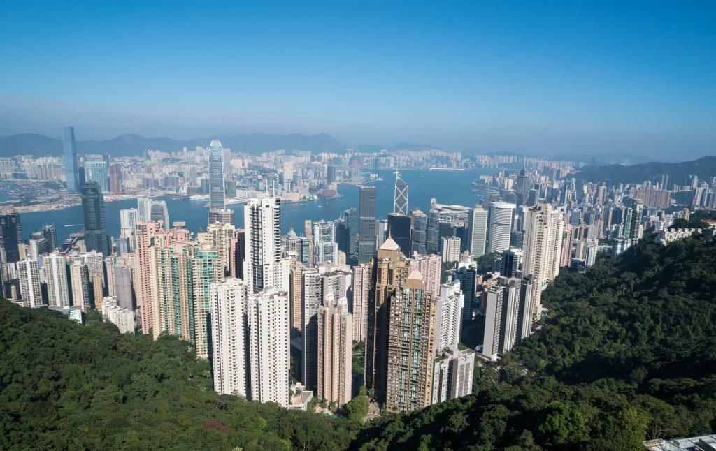 Chris Goldberg Hong Kong Skyline